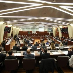 Il momento dell'approvazione al Consiglio Regionale