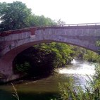 Il Ponte Spagnolo di Bilbiano, costruito nel 1765
