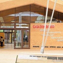 Il padiglione Casa Don Bosco a Expo