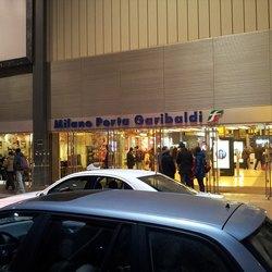 L'ingresso della Stazione di Milano Porta Garibaldi