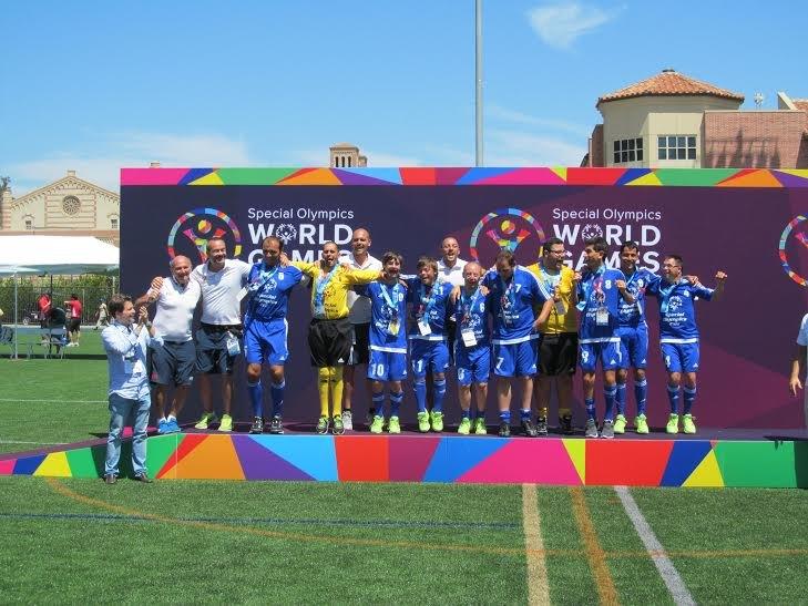 La squadra di Special Olympics