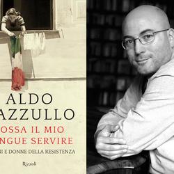 La copertina del libro e l'autore Aldo Cazzullo