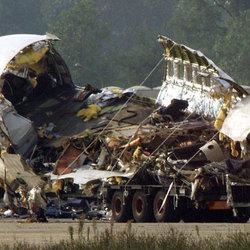 L'immagine della strage dell'8ottobre 2001