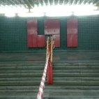 Le scale all'interno della metropolitana di San Donato
