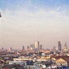 Lo skyline visto dal tetto del Duomo