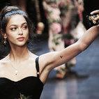 Una sfilata di Dolce&Gabbana