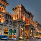 L'ingresso alla Galleria da Piazza del Duomo