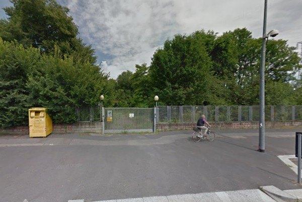L'area abbandonata di via Adriano 60