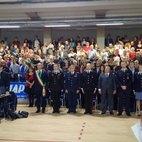 L'omaggio al Maresciallo  Felice Maritano