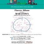 La locandina che sponsorizza l'evento di Piacere Milano