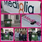 Il famoso cassonetto donato da Mediglia8 a Miagolandia