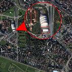 L'area ex-Palasharp in via Sant'Elia, anche qui dovrebbe sorgere una moschea
