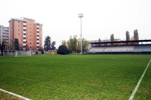 Il campo sportivo comunale Pastrengo