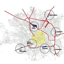 I 7 scali che saranno interessati dalla riqualificazione urbana