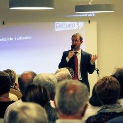 Il sindaco di Segrate, Paolo Micheli
