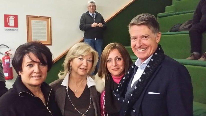 Gli esponenti di Forza Italia