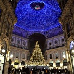 L'albero Swarovski in Galleria Vittorio Emanuele