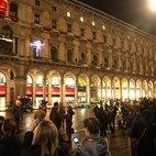 La finestra in Piazza Duomo dalla quale ogni sera si diffonde la musica di alcuni artisti
