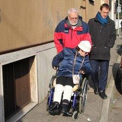 Francesca Maiorano assieme al sindaco, Paolo Micheli