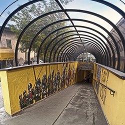 Il sottopasso della stazione di Melegnano