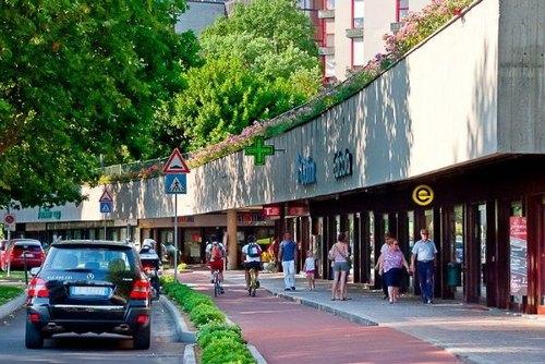 Il centro del quartiere San Felice a Segrate
