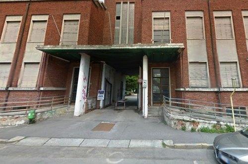 L'ingresso dell'ex sede Inps di Melegnano