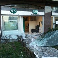 La filiale Bpm assaltata a Pantigliate