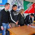 La firma di Franco Lucente