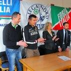 Da destra: Franco Lucente, Giusy Gersi, Leonardo Grosso e Riccardo Pase