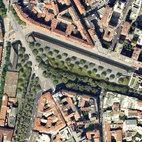 La vista aerea del progetto