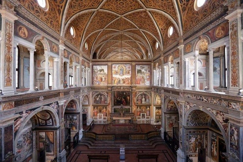 La chiesa di San Maurizio a Milano,