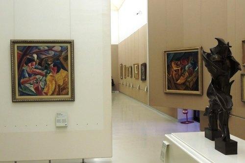 Museo del '900: sala del Futurismo