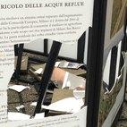 I danni causati dai vandali