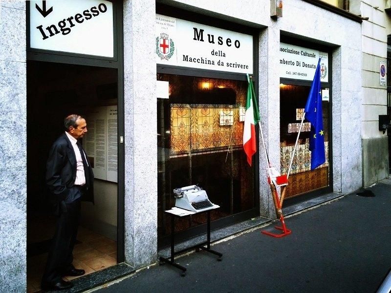 Il Museo della macchina da scrivere, e il fondatore Umberto di Donato