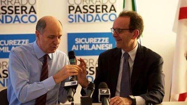 Corrado Passera e Stefano Parisi