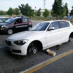 Uno dei furti subiti dai residenti di Bellaria
