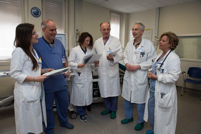 Il team di medici e massimi esperti del