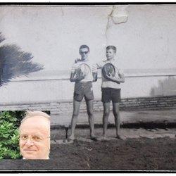 Da sInistra Piercamillo Davigo oggi e nel '64, a destra Roberto Santambrogio