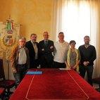 Da sinistra: Franco Morabito, Giuseppe Alessi, Federico Lorenzini; Alessandro Meazza, Barbara Mingetto, Andrea Carlo
