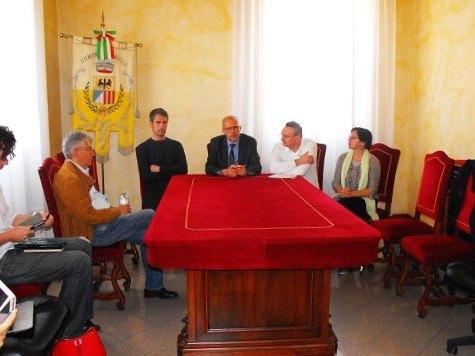 Da sinistra: Franco Morabito, Paolo Riccaboni, Federico Lorenzini, Alessandro Meazza e Barbara Mingetto