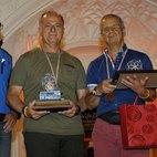 La premiazione di Raffaele Brattoli e Tullio Frau