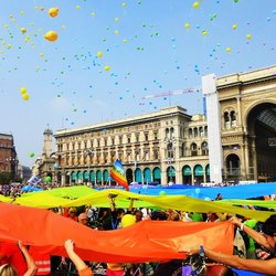 L'arrivo in piazza Duomo nella scorsa edizione di