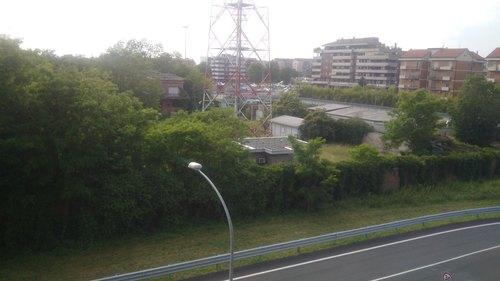 L'area della ex caserma dell'areonautica