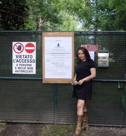Diana Bertona, Responsabile Tutela Animali Circoscrizione Est-Martesana per la Lega Nord