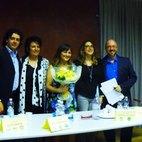 Da sinistra: Luca Zambon, Carla Bruschi, la giornalista Valeria Giacomello, Caterina Molinari e Davide Toselli