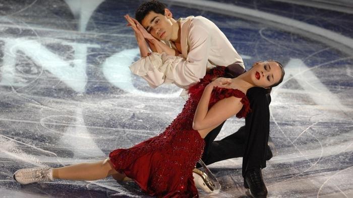 I campioni del mondo Anna Cappellini e Luca Lanotte