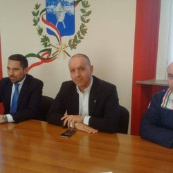 Da sinistra: Franco Lucente, Paolo Bianchi, Gianni Fabiano