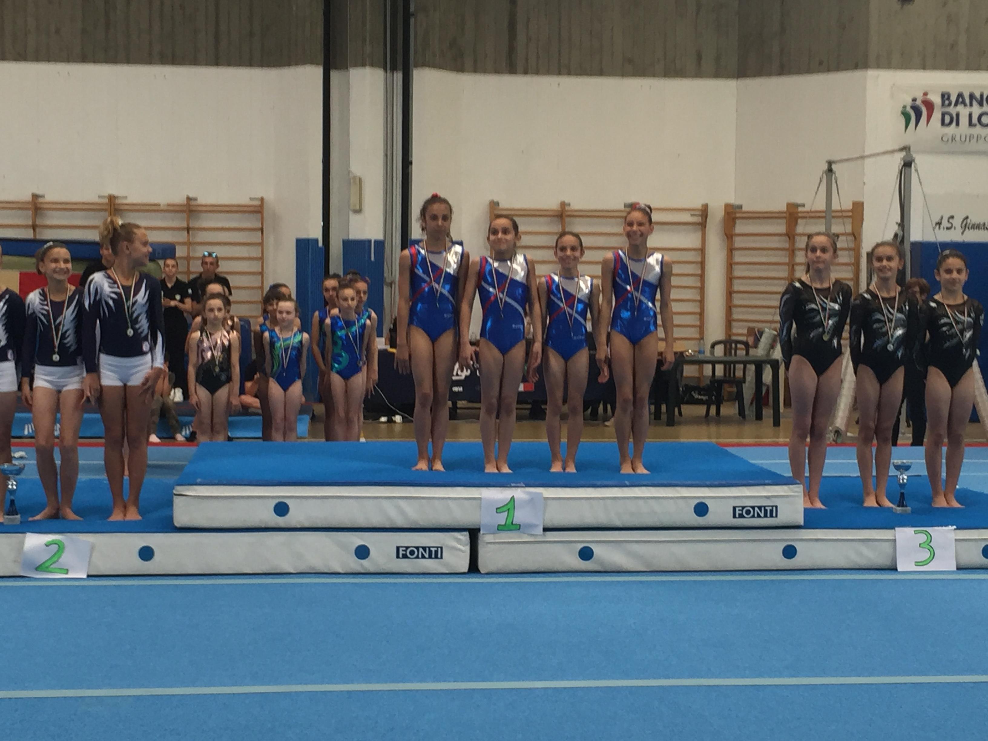 La squadra di ginnastica artistica madas di san donato for Arredamenti ballabio san donato milanese