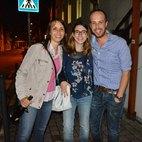 Da sinistra: Chiara Gatti, Caterina Molinari e Giancarlo Capriglia