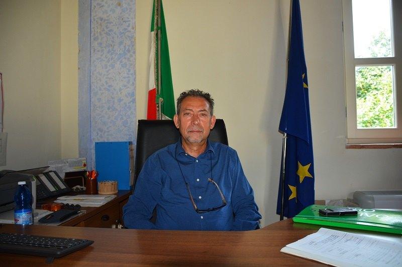 Il sindaco di Pantigliate, Claudio Veneziano